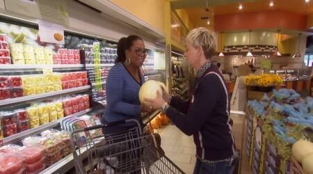VIDEO: When Oprah Winfrey and Ellen DeGeneres had too much fun at a grocery store