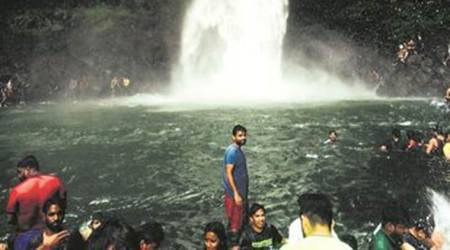 Section 144 lifted after three months, Devkund waterfall opens fortourists