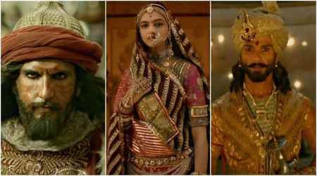 Watch Padmavati trailer: Shahid-Deepika's love story is threatened by Ranveer's menacing act as Alauddin Khilji