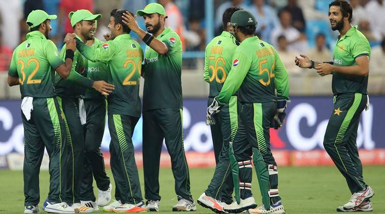 Image result for Pakistan team playing in dubai