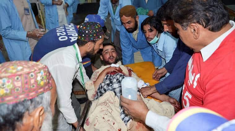 blast in pakistan, pakistan blast, blast in karachi, quetta blast, blast in quetta, world news, indian express