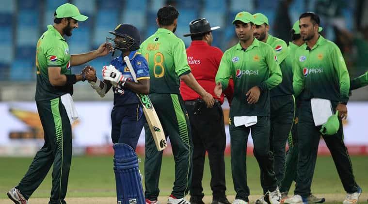 Pakistan vs Sri Lanka, Babar Azam, Hasan Ali, Niroshan Dickwella, sports news, cricket, Indian Express