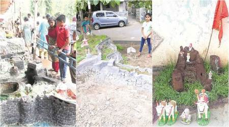 Practised during diwali in Maharashtra: In age of gadgets, a struggle to hold thefort
