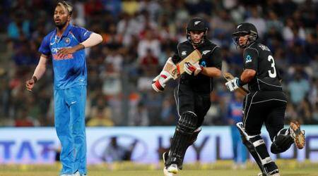 New Zealand beat India by six wickets in 1st ODI at Wankhede