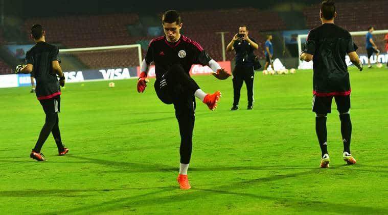 U-17 FIFA World Cup, Paraguay vs New Zealand, DY Patil stadium, Gustavo Morinigo