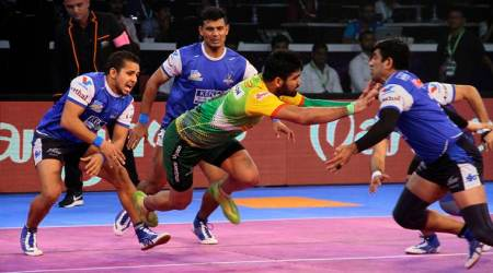Pardeep Narwal, patna Pirates vs Haryana Steelers, Patna vs Haryana, Pro Kabaddi 2017, PKL, Kabaddi news, Indian Express