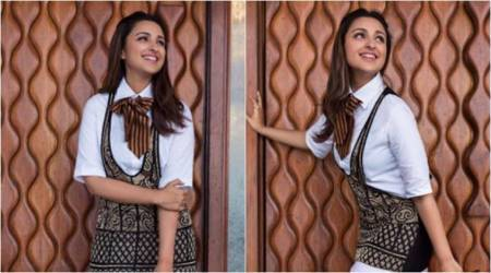 Parineeti Chopra's quirky twist to bow tie is perfect to jazz up formal wear