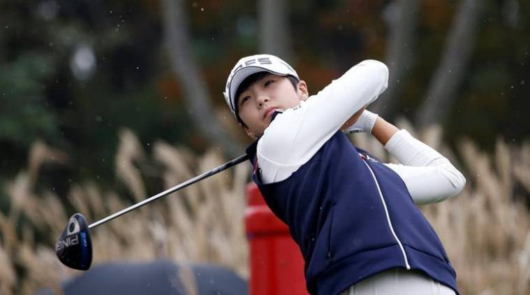 South Korea's Ko Jin-young leads by two, Park Sung-hyun eyes No.1 spot