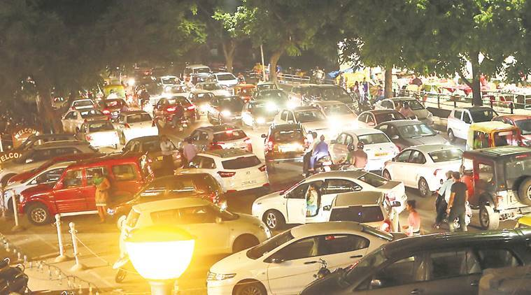 car parking news, municipal corporation news, chandigarh news, indian express news