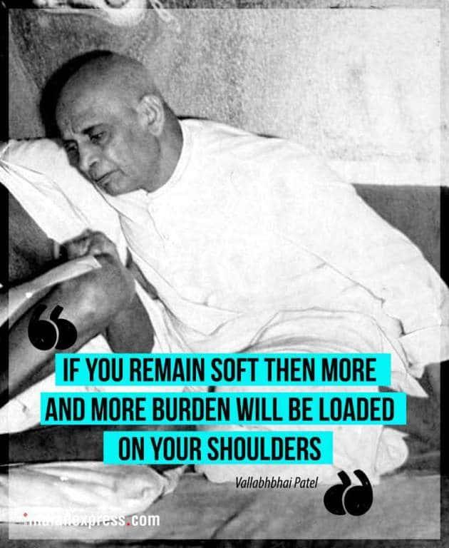 sardar patel, Vallabhbhai Jhaverbhai Patel, sardar patel birth anniversary, sardar patel quotes, sardar patel congress, indian express, indian express news