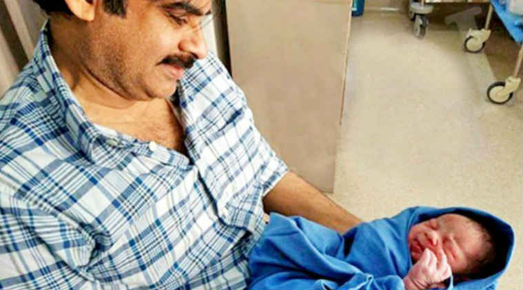 South superstar Pawan Kalyan blessed with a baby boy, see pic