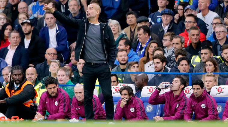 Pep Guardiola, Manchester City, Premier League, Harry Kane, sports news, football, Indian Express