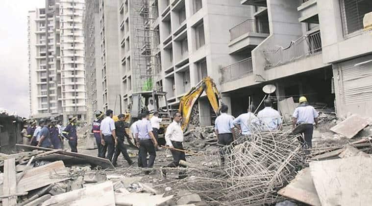 Balewadi slab collapse, Pune Balewadi slab collapse, Balewadi slab collapse pune, Pune Contractors Chargesheeted, Pune News,Latest Pune News, Indian Express, indian express news