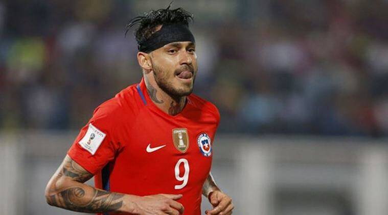 Mauricio Pinilla, Chile, World Cup qualifier, 2018 World Cup, Chile football news, Indian Express