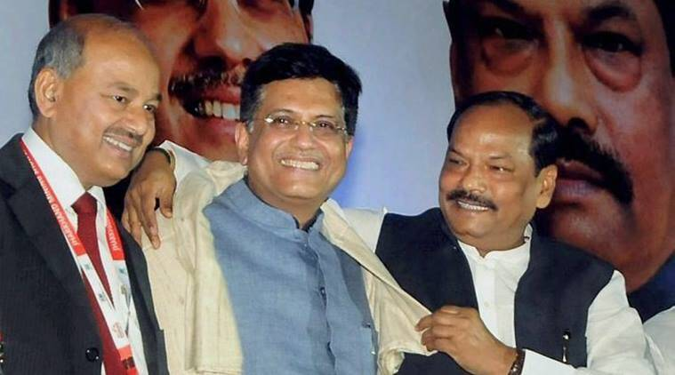 Piyush Goyal, Jharkhand Mining show 2017, Jharkhand, Raghubar Das, new Jharkhand, new india, india news, indian express