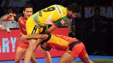 Pro Kabaddi League 2017, PKL 2017, Bengaluru Bulls vs Patna Pirates, Monu Goyat