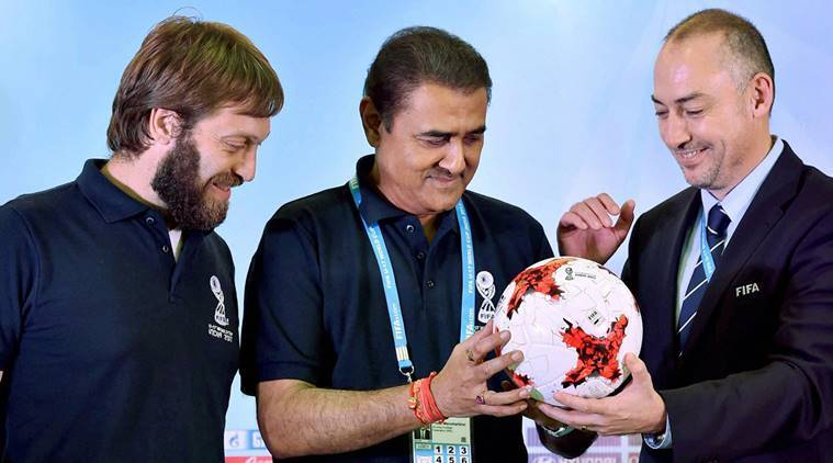 Praful Patel, AIFF, FIFA U-17 World Cup, sports news, football, Indian Express