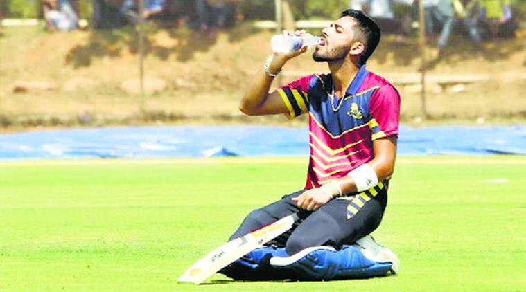 Prashant Chopra scores 338 runs for Himachal Pradesh in Ranji Trophy