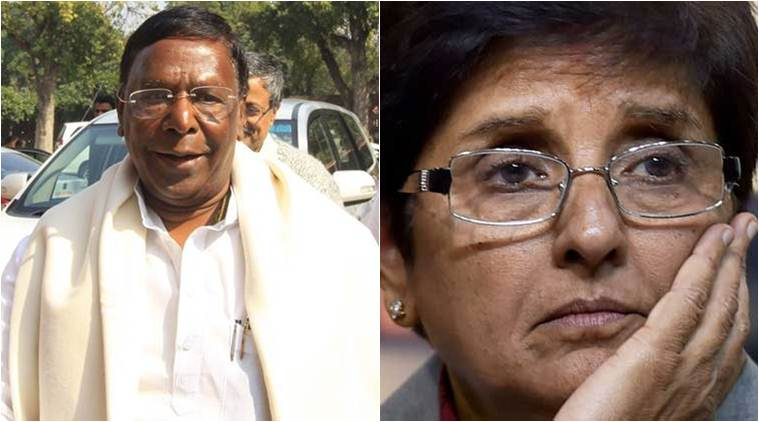Puducherry CM Narayanasamy calls off dharna, says partial success achieved on various demands
