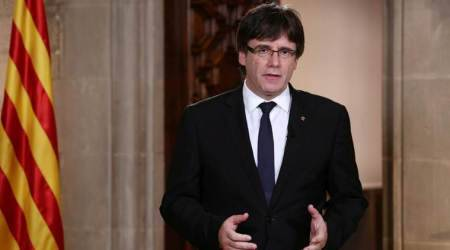 Spanish prosecutor accuses sacked Catalan leader Carles Puigdemont of rebellion