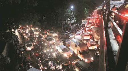 Heavy rains, traffic snarls hit parts of Pune, Pimpri
