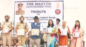 Badnore, police pay tributes to martyrs at five Punjabdistricts