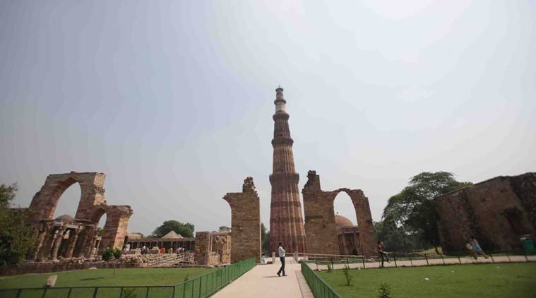 Line Drawing Of Qutub Minar : Ghulam dynasty mamluk सल्तनत काल गुलाम वंश