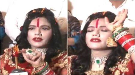 VIDEO: Radhe Maa has some English lessons for journalists; and it's hilarious