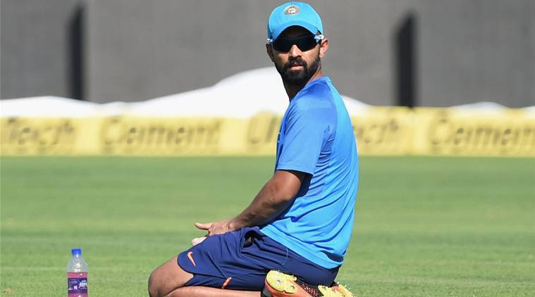 ajinkya rahane before the 1st test