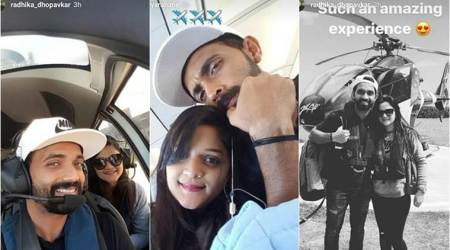 Ajinkya Rahane enjoys time off-field with wife Radhika Dhopavkar; see pics