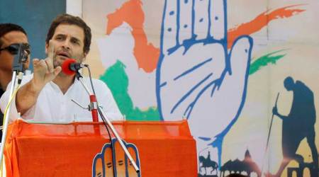 Rahul Gandhi in Gujarat live updates: Attacks Centre on GST, calls it Gabbar Singh Tax