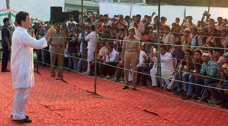 Rahul Gandhi, Rahul Gandhi on employment, Rahul Gandhi Gujarat visit, Narendra Modi, Congress, Rahul Gandhi on jobs, BJP, India news, Indian Express