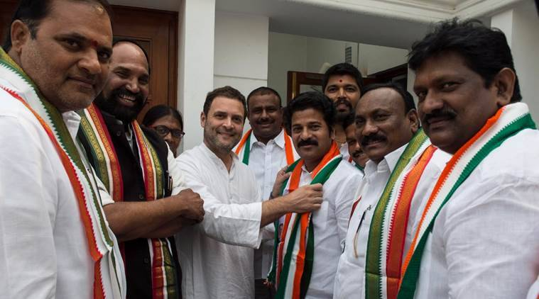 Rahul Gandhi to accept Revanth Reddy