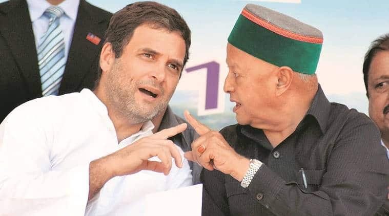 Himachal Pradesh Assembly Elections 2017, Congress, Congress election manifesto, Himachal Elections 2017, Himachal polls, virbhadra singh, indian express