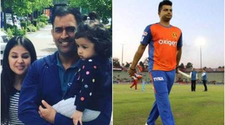 Sakshi Dhoni had contacted Suresh Raina to inform MS Dhoni about daughter Ziva's birth