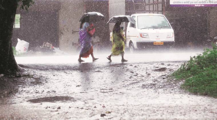 Image result for Three-fold rise in erratic rainfall over central India, finds new study, Maharashtra,