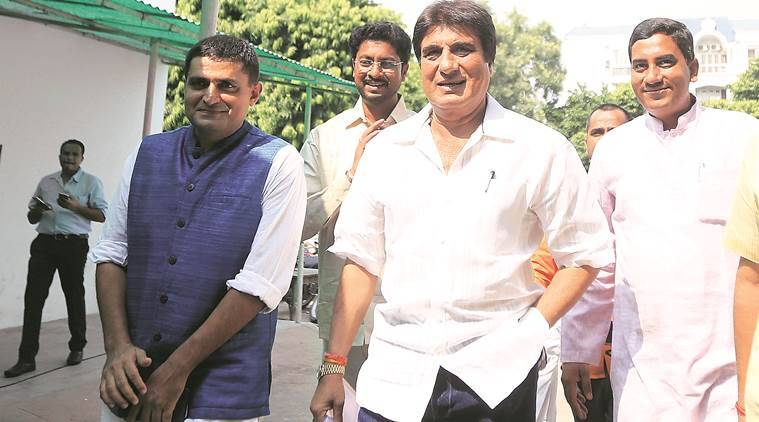 raj babbar news, amit shah news, india news, indian express news