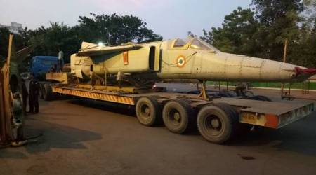 IAF allots a MIG-27 to Rajkot for permanent display