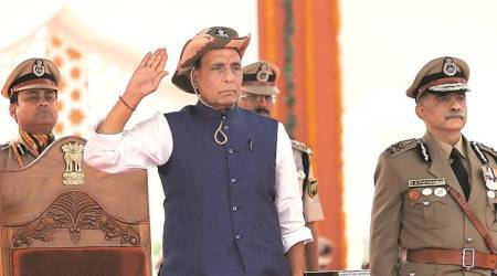 Pakistan continuing with its antics, but Kashmir situation has improved, says Rajnath Singh