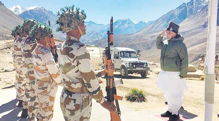 rajnath singh, rajnath singh uttarakhand visit, rajnath, rajnath on border migration, indo-tibetan border police, India-China border, PM Modi, india china, indian express, indian express news