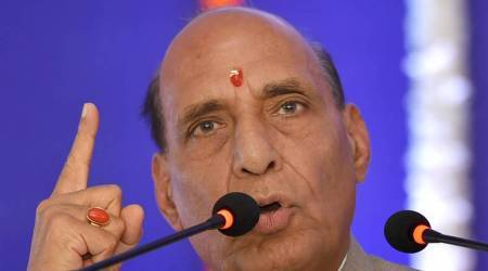 Virbhadra Singh 'embarrassing' people by continuing as CM: Rajnath Singh