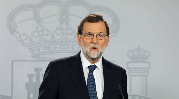 catalonia, catalonia independence referendum, spain, spanish government, spain prime minister, Mariano Rajoy, Spain news, indian express news