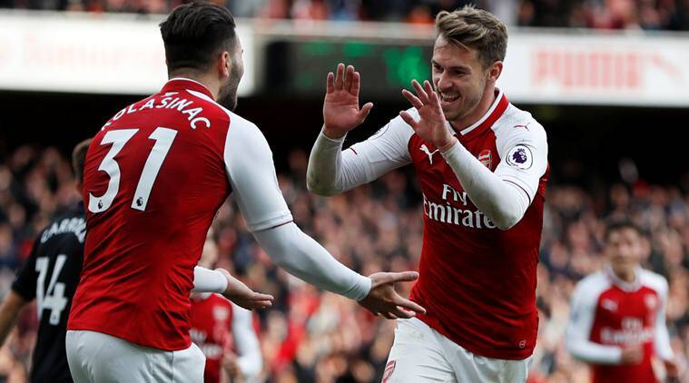 Swansea City vs Arsenal, Premier League, Sead Kolasinac, Aaron Ramsey, football news