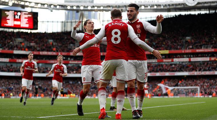 Arsenal vs Swansea, Arsenal, Aron Ramsey, Arsene Wenger, Premier League, Football news, Indian Express