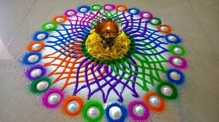 diwali, diwali 2017, rangoli, rangoli ideas, rangoli designs, rangoli ideas and designs, diwali celberations, rangoli ideas for diwali, diwali home decor, indian express, indian express news