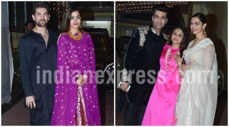 Rani Mukerji and Aditya Chopra Diwali party photos: Karan Johar, Deepika Padukone and Neil Nitin Mukesh among others in attendance