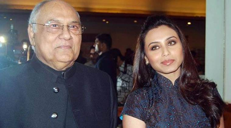 Rani Mukherji's father dies at 84