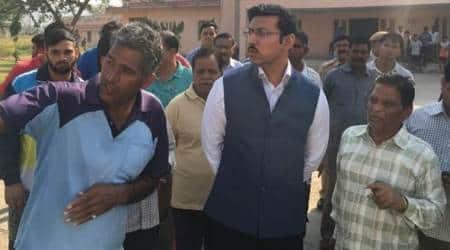 Rajyavardhan Rathore conducts surprise inspection at Jaipur's Vidyadhar Nagar Stadium; observes poorconditions