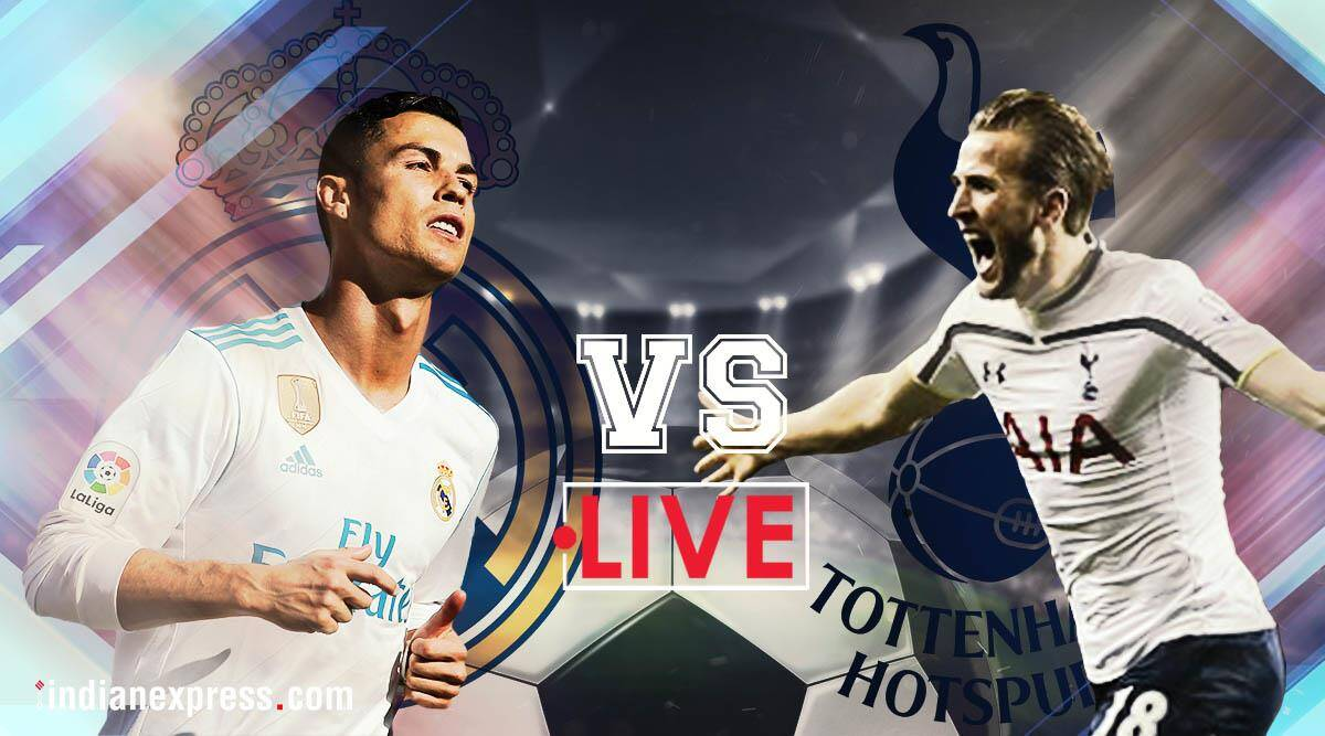 Real Madrid vs Tottenham Hotspur Live Score, Champions League: Debut for Achraf; Fernando Llorente starts for Spurs