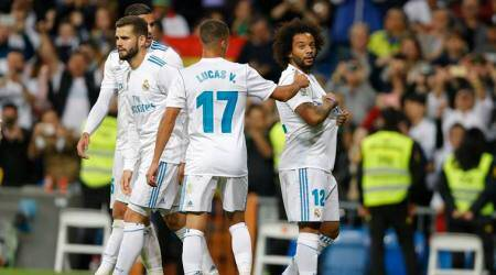 Real Madrid have recovered from a shaky start to their title defence. (Source: AP)